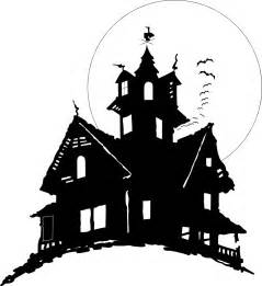 Haunted House Outline by Haunted House Free Stock Photo Illustration Of Bats Flying By A Haunted House 4899