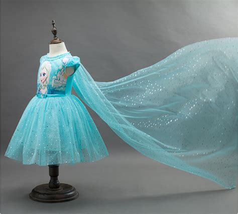 Princes Gown Tutu Dress Baby 8 Thn Code A3 summer elsa costume dress clothing princess dress dresses baby