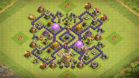 layout coc th7 anti naga 15 anti 3 star th7 to th11 farming war base layouts for