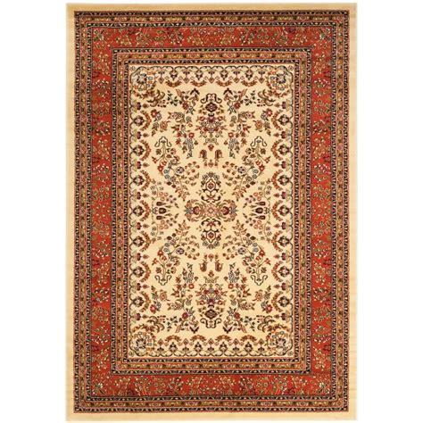 lyndhurst area rugs safavieh lyndhurst ivory 8 ft x 11 ft area rug lnh222b 8 the home depot