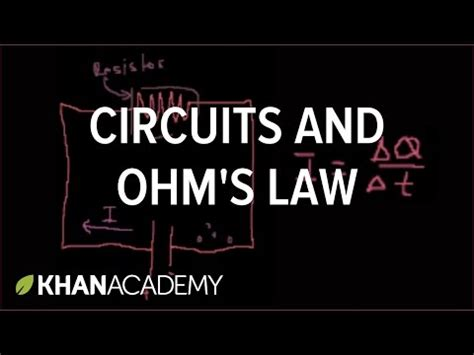 resistors in parallel khan academy introduction to circuits and ohm s
