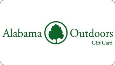Alabama Gift Card - gift cards are now available for purchase online alabama outdoors