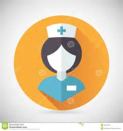 House Plans Designers medical treatment nurse symbol female physician stock