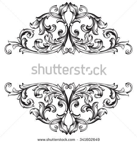 clipart vintage style floral pattern pattern stock images royalty free images
