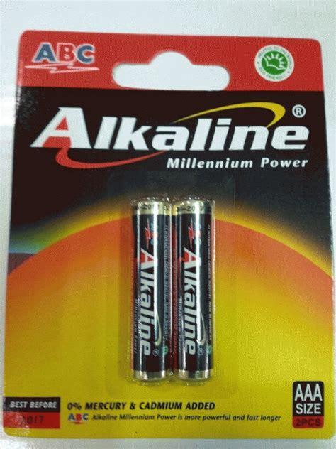 jual battery batre batere baterai abc alkaline aaa a3