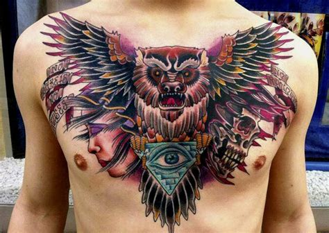 japanese owl tattoo owl tattoos