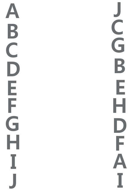 pattern matching beginning of line alphabet matching worksheets for preschoolers free
