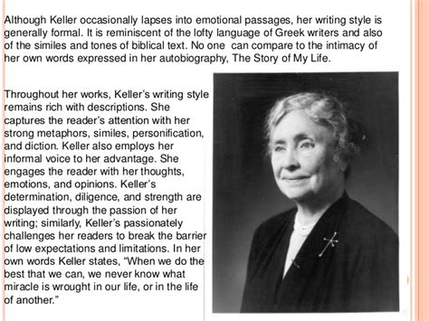 biography of helen keller in short the story of my life sa 2 book review