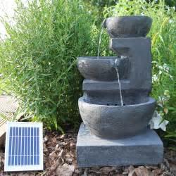 solar garten solarbrunnen gartenbrunnen solar wasserspiel f 252 r garten
