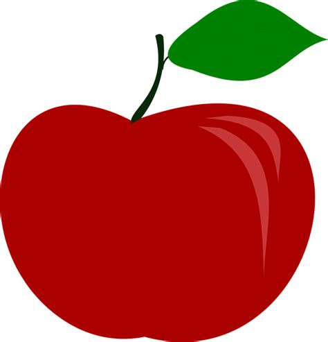 apple vector free vector graphic apple fruit food free image on