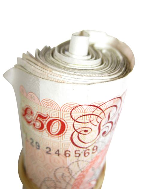 Wf Roll 35 Best Fresh Original 50 pound notes on white a roll of 50 pound notes isolated flickr