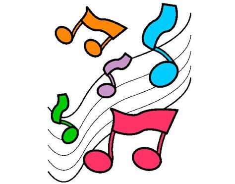 imagenes animadas musica dibujo de notas musicales pintado por p1a2 en dibujos net