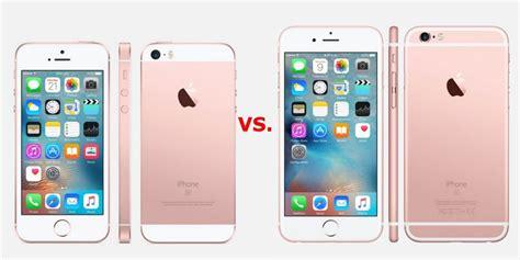 10 notables diferencias entre el iphone se y iphone 6s