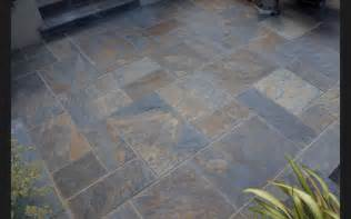Grey Patio Slabs by Details About Rustic Copper Slate Paving Slabs Garden