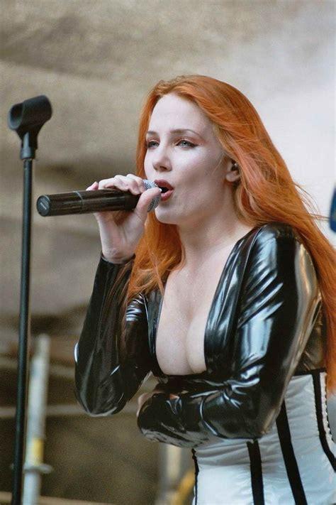 hot female metal singers simone simons sexy red headed female mezzo soprano singer