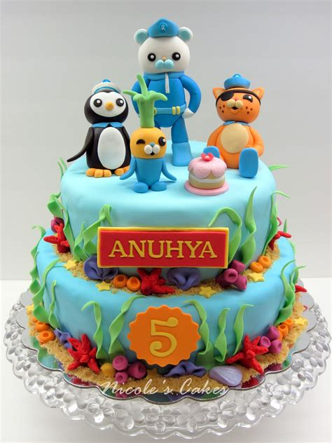 Cake Decoration At Home Birthday by Birthday Cakes Images Octonauts Birthday Cake Marvelous