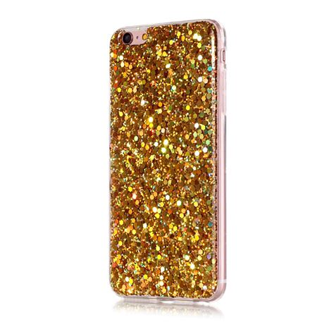 Silicon Water Gliter 1 glitter bling shockproof silicone tpu slim back cover for iphone 6s 7 plus