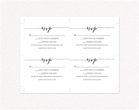 wedding rsvp business cards templates zazzle