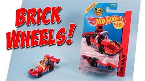 Wheels Hotwheels Minecraft wheels let s go lego minifigure go kart car 2014