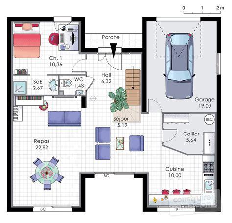 Maison Familiale Plan by Maison Familiale 9 D 233 Du Plan De Maison Familiale 9