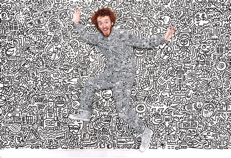 mr doodle inside the world of uk artist mr doodle collective hub