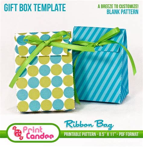 diy favor box template printable 1000 images about paper boxes bags on