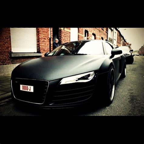 audi r8 in matte black matte black audi r8 luxury car lifestyle
