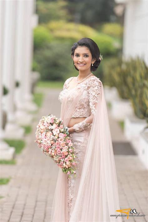 Bridal Wedding by Sri Lankan Sri Lankan Weddings Saree