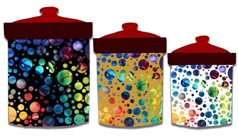 canisters extraordinary multi colored canisters glass