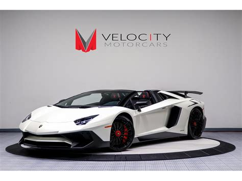 convertible lamborghini 2017 2017 lamborghini aventador lp 750 4 sv roadster for sale