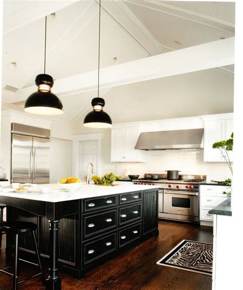 Kitchen Island Lighting For Vaulted Ceiling Pin By Alison On Kitchen Pinterest