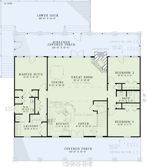 Half Bath Floor Plans by Country Style House Plan 5 Beds 3 Baths 2704 Sq Ft Plan