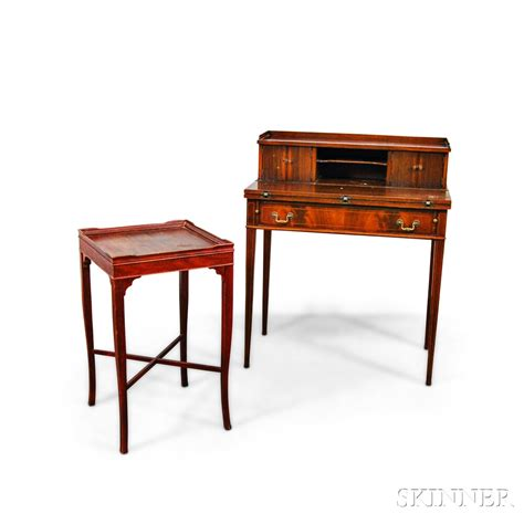 Federal Desk by Maddox Federal Style S Writing Desk And A Stained
