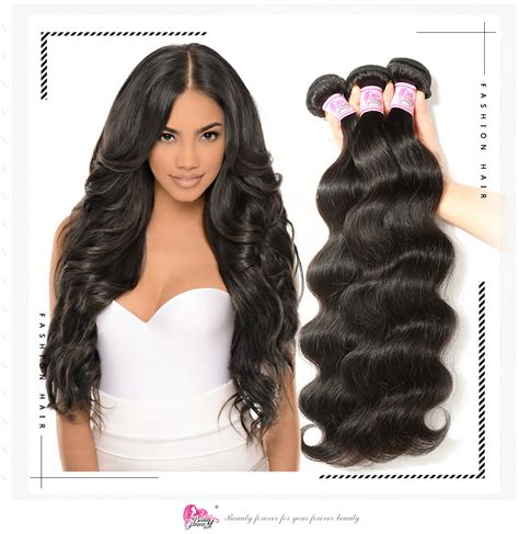 pictures of body wave weave hairstyles beautyforever brazilian body wave hair 100 remy human