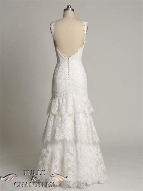 pattern for lace up back dress design your wedding dress custom made strappy tiered