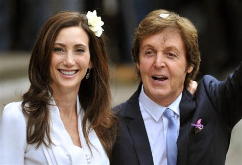 Was Paul Mccartney With Nancy Shevell by Sir Paul Mccartney And Nancy Shevell Leave Westminster
