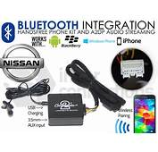 Nissan Bluetooth Adapter For Streaming And Hands Free
