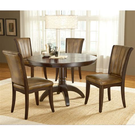 Caster Chairs Dining Set Hillsdale Grand Bay Cherry Dining Set With Caster Chairs Ebay