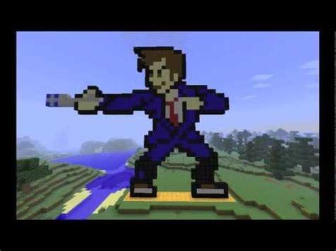 10th doctor pixel art minecraft minecraft pixel art 10th doctor youtube