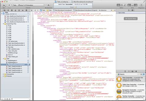 xcode 6 autolayouts stack overflow uistoryboard xcode 4 2 version inspector hides