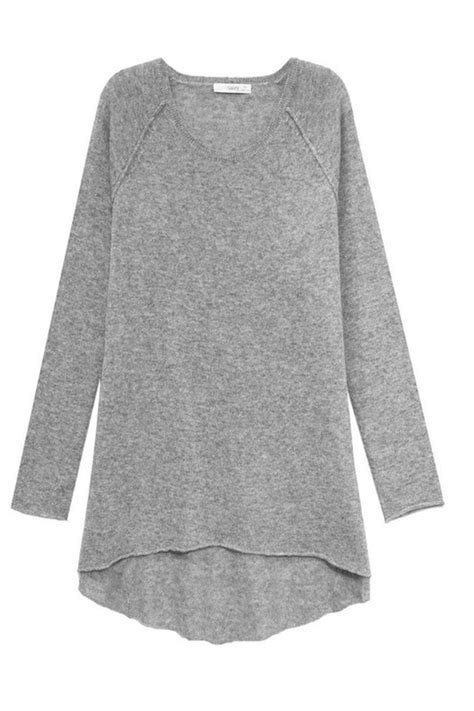 swing sweater subtle luxury cashmere swing sweater from los angeles by