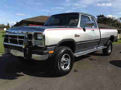 sell used 1993 dodge ram 2500 in north stratford new hshire united states for us 7 000 00 sell used 1993 rare dodge ram 250 le club cab cummings diese 4x4 low miles no reserve in