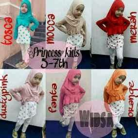 Baju Setelan Nze Set Tanti boutique by kiky vinola princess hijabers