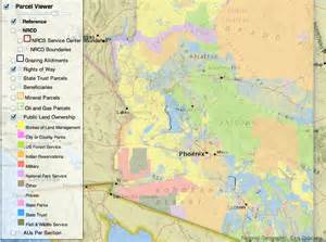 arizona land use map interactive lands map from the arizona state land