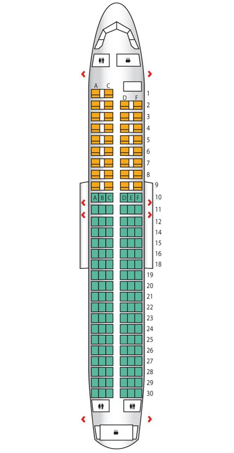 airbus a320 seating plan airbus a320 200 seating plan