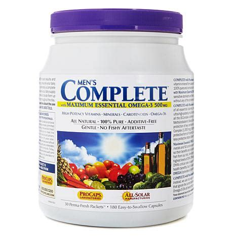 hsn w supplement s complete with maximum essential omega 3 auto ship