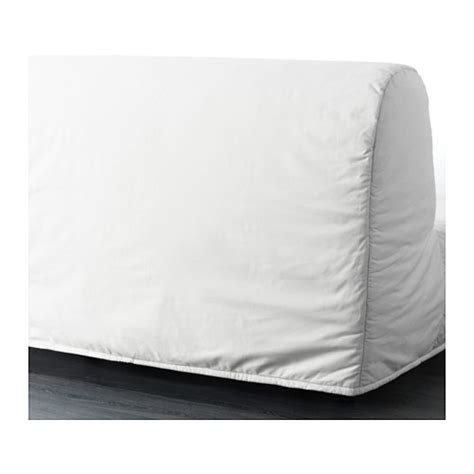 Lycksele Two Seat Sofa Bed Cover Ransta White Ikea Ikea Lycksele Sofa Bed