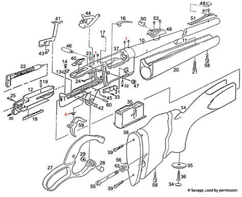 savage model 110 parts diagram 99c clip type world s largest supplier of gun parts