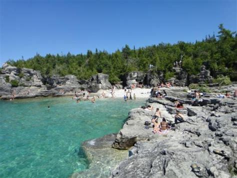 ontario cottage rentals tobermory canam lake house indian cove on a saturday in june picture of the grotto