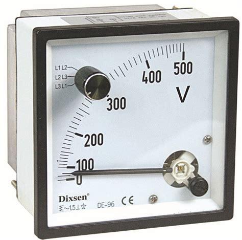 Gae Voltmeter Ac 96 500v 1 0 500v voltage ac analog panel meter voltmeter buy